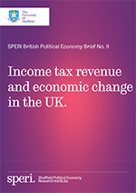 Income tax revenue and economic change in the UK