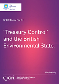 Treasury Control and the British Environmental State